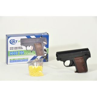 PROFESSION   ACTIVITE DE GRANDS Pistolet à billes Colt 25 Noir Hop Up