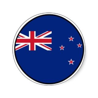 New Zealand Euro Sticker