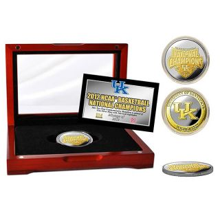 University of Kentucky 2012 NCAA National Champions Two tone Medallion