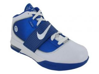 SOLDIER IV TB BASKETBALL SHOES 14 (WHITE/WHITE/VARSITY ROYAL) Shoes