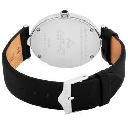 August Steiner Womens Eternity Swiss Quartz Strap Watch
