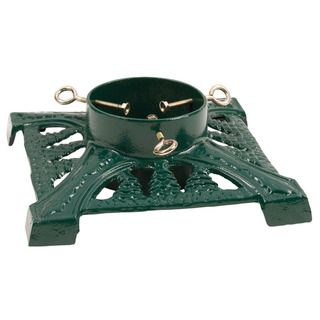 Good Tidings Green Cast Iron Tree Stand