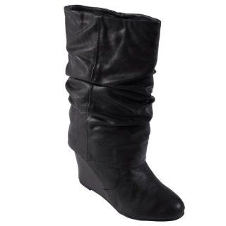 Madden Girl by Steve Madden Slouchy Wedge Boot Shoes