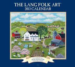 Lang Folk Art 2013 Calendar (Calendar)