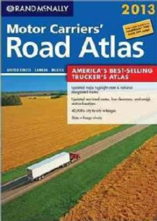 Rand McNally 2013 Motor Carriers Road Atlas United States, Canada
