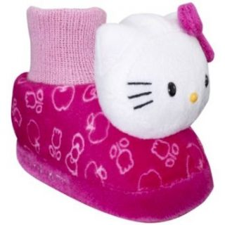 Sanrio Hello Kitty Slippers Shoes Sock Top Pink For