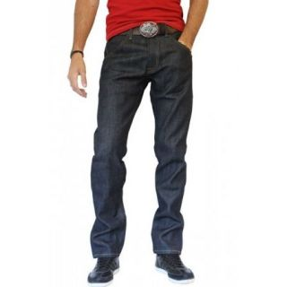 Jeans Homme Wrangler Style cinq poches Braguette a boutons Coupe