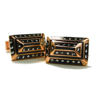 Gianfranco Ruffini Rose gold Plated Cufflinks