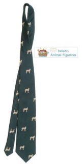 Irish Wolfhound Tie (Mens Dog Breed Neck Tie) Clothing