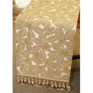 Floral and Leaf Italian 72 inch Table Runner