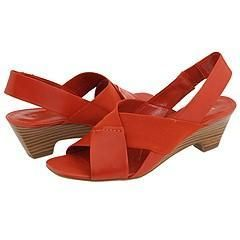 Franco Sarto Raleigh Red Gaucho Sandals