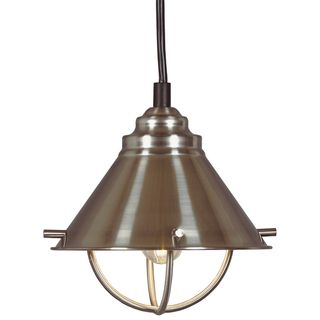 Olinda 1 light Steel Mini Pendant