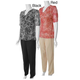 Adi Designs Just U Collection Womens Two piece Pant Set