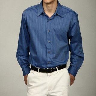 Van Heusen Blue Stripe Woven Shirt