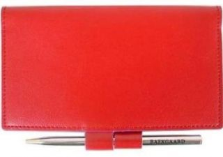 Baekgaard New Colorful Collection Leather Checkbook Cover