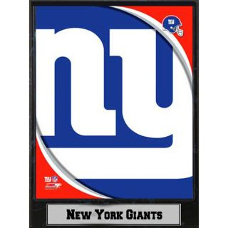2011 New York Giants Logo Plaque (9 x 12)