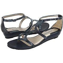 Matisse Aphrodite Blue Snake Sandals