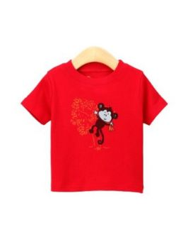 Tangerine Tree Boys T Shirt   Bananas the Monkey Clothing