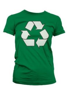 Recycle Sign Womens T shirt, Funny Flirty Womens Shirts