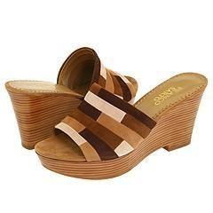 Franco Sarto Equator Mink Suede Sandals