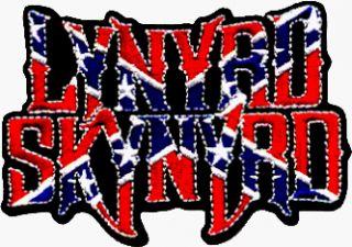 Lynyrd Skynyrd Rebel Flag Logo Rock Roll Music Band