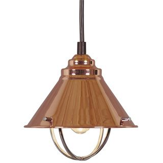 Olinda 1 light Copper Mini Pendant