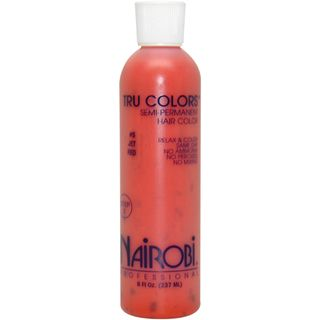 Nairobi Tru Colors Jet Red #5 Semi Permanent 8 ounce Hair Color