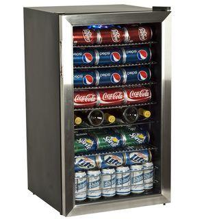 EdgeStar BWC120SS 33 bottle Stainless Steel Wine Refrigerator