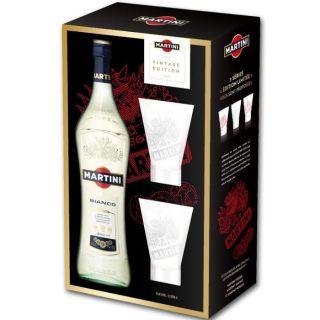Coffret Martini blanc bianco 1 litre   Achat / Vente APERITIF A BASE