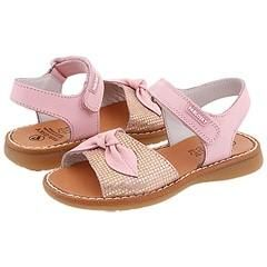Pablosky Kids 008575 Pink/ Gold Shimmer Sandals   Size 8 T
