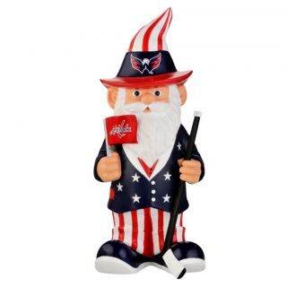 Washington Capitals 11 inch Thematic Garden Gnome
