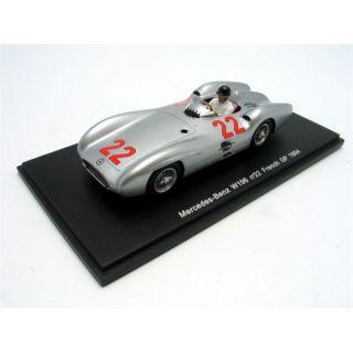 SPARK 1/43 MERCEDES BENZ W196 GP France 54   Achat / Vente MODELE