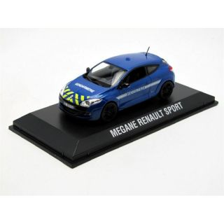 NOREV 1/43 RENAULT Megane RS Gendarmerie   2011   Achat / Vente MODELE