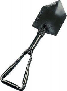 Rothco Deluxe Tri Fold Shovel, Olive, O/S Clothing