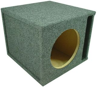 Custom Single Vented Subwoofer Box (12 inch)