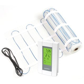 Radimo Electric Floor Heating Kit with Thermostat