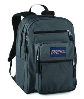 JanSport Big Student School Backpack (Forge Grey