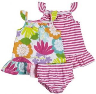 Carters 2 Pack Sleeveless Dress Set   Pink/Floral
