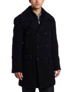 Marc New York by Andrew Marc Mens Trent Top Coat