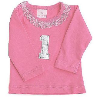 Sophias Style Girls Birthday Number Tee