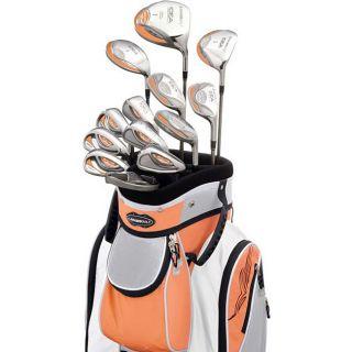 Adams A3OS Womens Tangerine 13 piece Full Golf Set