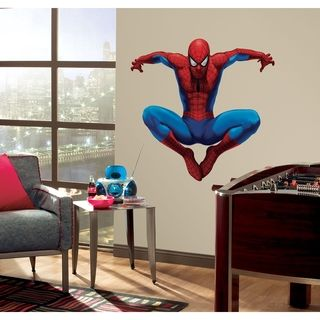 RoomMates Amazing Spiderman Peel and Stick Giant Wall Decal