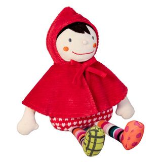 Crazy Cuddy Wolf Little Red Riding Hood Doll