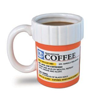 Big Mouth Toys The Prescription Coffee Mug Kitchen