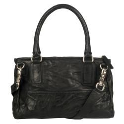Givenchy Pepe Pandora Small Black Leather Satchel