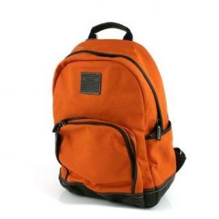 Coach Canvas Unisex Backpack Bag 70579 Burnt Orange