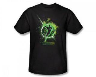 Green Lantern Shadow Dark DC Comics Super Hero T Shirt Tee