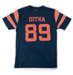 Mike Ditka No. 89 Tribute Retro T Shirt Football Legends
