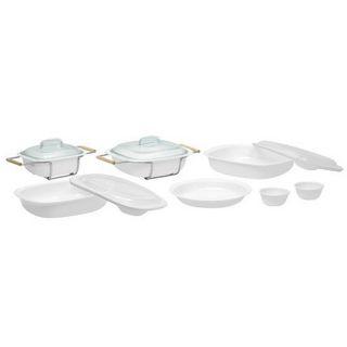 CorningWare SimplyLite White 13 piece Bakeware Set