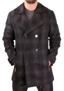 INC International Concepts Mens Peacoat Wool Coat Jacket